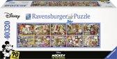 Ravensburger puzzel Mickeys 90ste verjaardag - Legpuzzel - 40000 stukjes