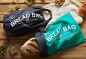ONYA - Duurzame Broodzak (AQUA) | Bread Bag | Herbruikbare Brood zak | Broodtas | Brood tas | Broodmand