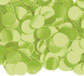 Luxe confetti 1 kilo limegroen