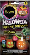 Illooms LED Ballonnen Pompoenlichten 5 Stuks