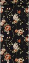 Origin behang bloemen zwart - 347431