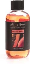 Millefiori Milano geurstokjes navulling - Natural Mango & Papaya