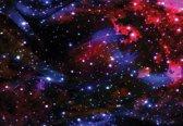 Fotobehang Space Stars   XXL - 312cm x 219cm   130g/m2 Vlies