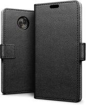 Motorola Moto E5 hoesje - Book Wallet Case - zwart