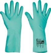 Handschoen Grebe chemisch bestendig 33cm nitril 10/XL - 2 paar