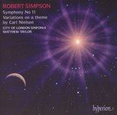 Simpson: Symphony No 11, Variations On A Theme By
