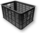 Basil Crate Large - Fietskrat - 50 Liter - Zwart