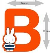 """Nijntje houten letter """"B"""""""