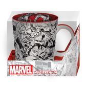 MARVEL - Mug PREMIUM 460 ml - Marvel Characters