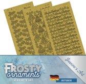 Stickerset - Jeanine's Art - Frosty Ornaments - Duits