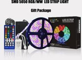 Sunbird Brightness Ledstrip - 5 Meter - RGB 300LED - IP65 - Color Ambiance - incl afstandbediening