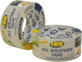All Weather Tape - transparant 48mm x 25m