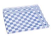 Clarysse Keukendoek Blok Blauw 60x60cm