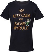 Zelda - Keep Calm And Save Hyrule Boys T-shirt - 122/128