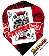 Harrows Quadro King of Darts  Set à 3 stuks