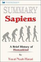 Boekomslag van 'Summary of Sapiens'