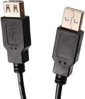 Mannelijke-Vrouwelijke USB 2.0 Maclean MCTV-745 - Universele USB-kabel met A-A-aansluitingen voor het aansluiten van USB-apparaten