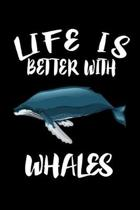 Life Is Better With Whales: Animal Nature Collection