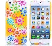 Gel print hoesje iPhone 6 Plus beautiful flowers