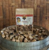 Mr. Barrel BBQ Rookchunks 1350gr brandy vaten