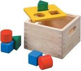 PlanToys - Vormenstoof/sorteerbox