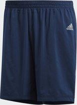 adidas Run Shorts M Sportbroek Heren - Collegiate Navy