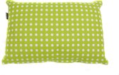 In The Mood Doubledots - Sierkussen 30x45 cm - Lime