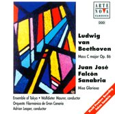Beethoven: Mass in C major, Op. 86; Sanabria: Misa Gloriosa