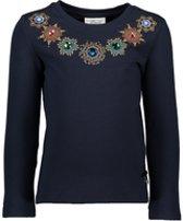 Le chic t-shirt - Marineblauw - Maat 104