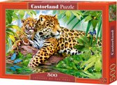 Jaguars by the Pool puzzel 500 stukjes