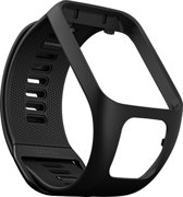 TomTom Runner 3/Spark 3 watch strap - zwart - large