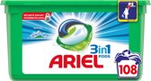 Ariel 3in1 Pods Alpine - Kwartaalbox 3 x 36 Wasbeurten - Wasmiddelcapsules