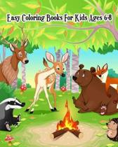 Easy Coloring Books for Kids Ages 6-8