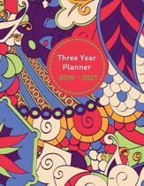 Three Year Planner 2019 - 2021