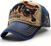 Baseball Cap - WLIKE New Style Blue - C051