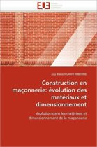 Construction En Ma�onnerie