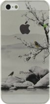 Xccess Cover Apple iPhone 5/5S Bird on Branch/Transparent