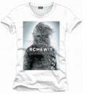 Merchandising STAR WARS - T-Shirt Chewie - White (S)