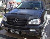 AutoStyle Motorkapsteenslaghoes Mercedes ML 2000-2004 zwart