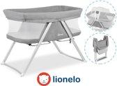 Lionelo Vera - 3 in 1 Reisbed, Box en wieg met modern design met draagtas - Grijs