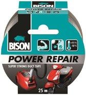 Bison Powerrepair tape grijs 25 mtr