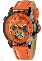 Calvaneo 1583 Calvaneo Astonia Project Orange Edition - Horloge - 46 mm - Automatisch uurwerk