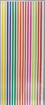 Jekra Vliegengordijn - Linten - Multicolor/Wit - 90x220 cm