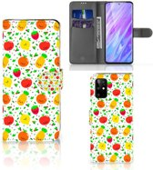 Samsung Galaxy S20+ Book Cover Fruits