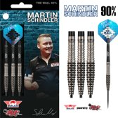 Bull's Steeltip Martin Schindler The Wall 90% Match Dart 25 gram Dartpijlen