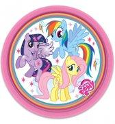Bol Com Set Van 8 Borden My Little Pony Feestdecoratievoorwerp