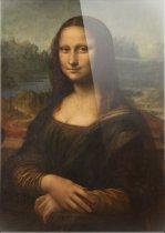 Mona Lisa | Leonardo da vinci | Foto op plexiglas | Wanddecoratie | 100CM X 150CM | Schilderij