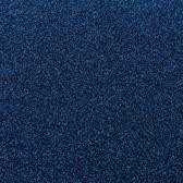 Loper   Glitter Blauw - 10 meter x 1 meter