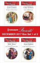 Harlequin Presents December 2017 - Box Set 1 of 2