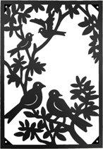 Wanddecoratie vogels 56*3*78 cm Bruin | 5Y0488 | Clayre & Eef